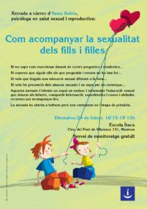 Xerrada Com acompanyar la sexualitat infants